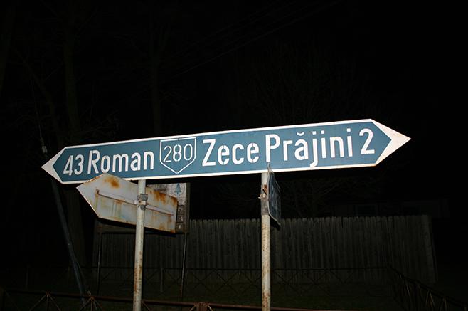 ゼチェ・ブラジニ村まで、あと2キロ