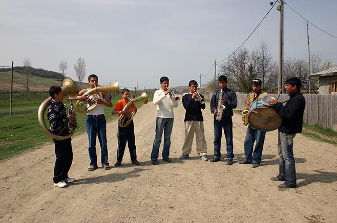 少年たちのバンド、ファンファーレ・ジュニア