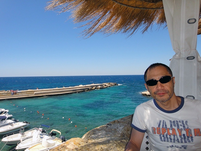 ガリポリの港にて。