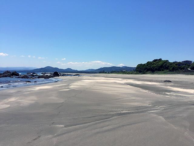 黒潮町の入野(いりの)海岸です。
