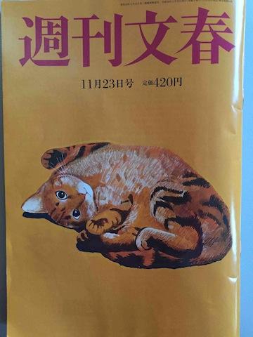 週刊文春17/11/23