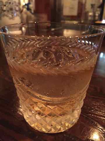 バカルディのグラス