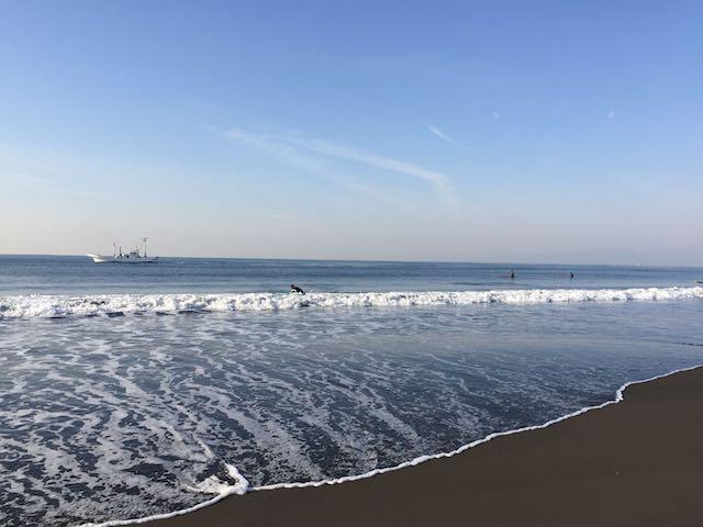 湘南海岸はまぐり船