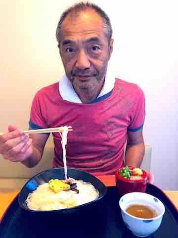 小豆島そうめん食べる